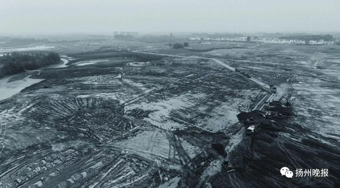 扬州园博园手绘地图